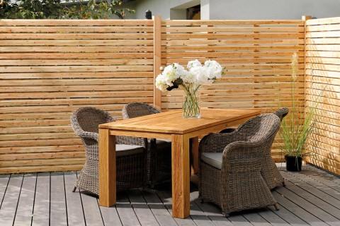Holzzäune mit dauerhaftem Holzschutz im HORNBACH Onlineshop
