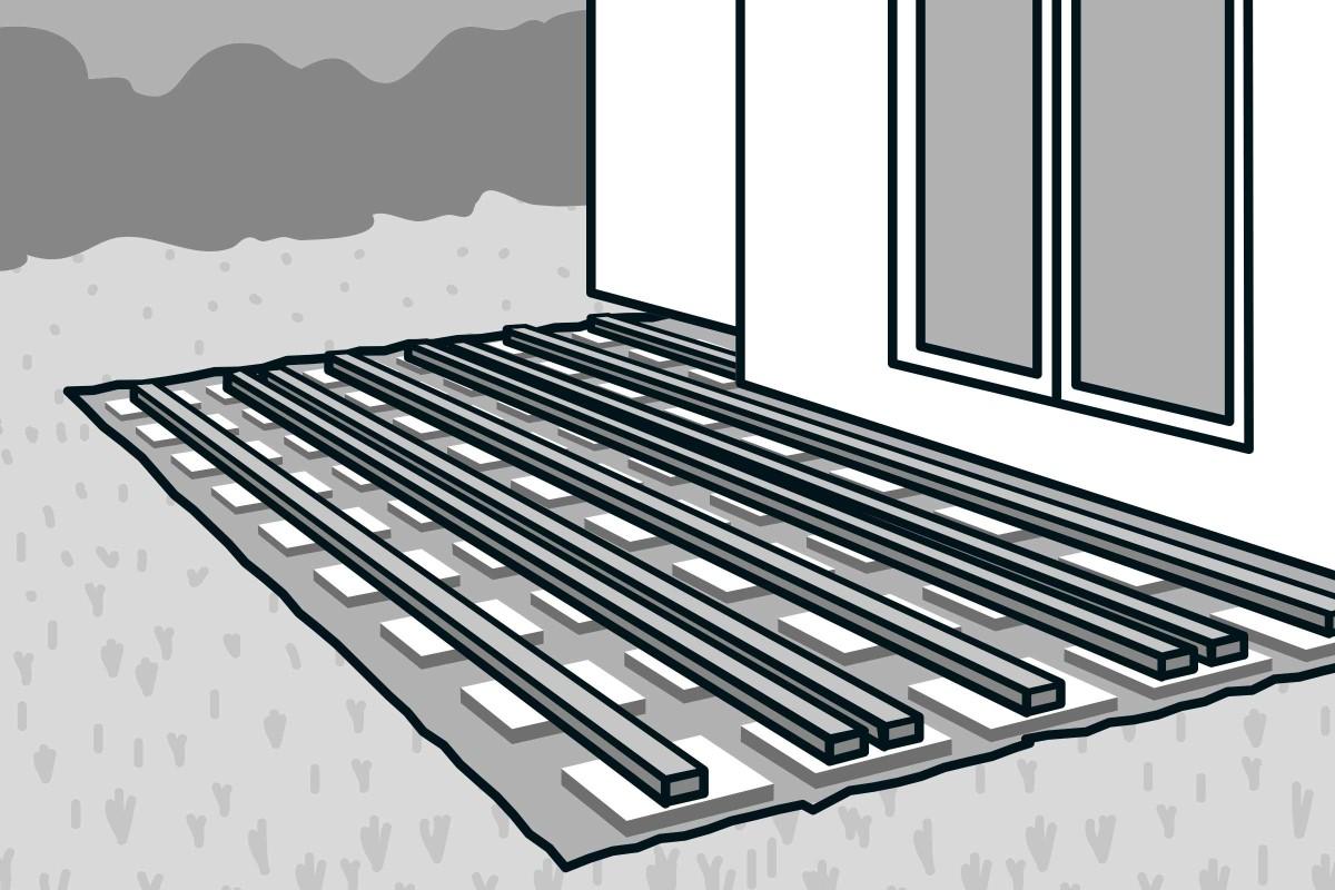 Holzterrasse bauen   HORNBACH
