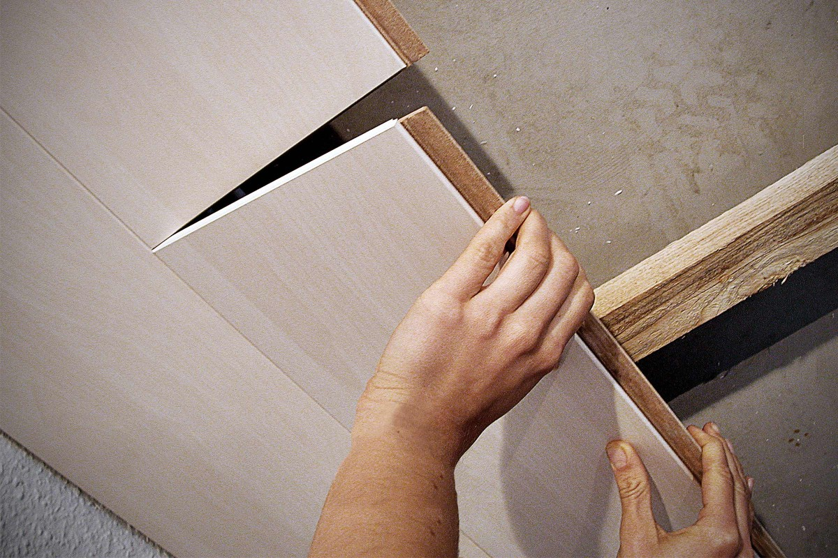 Decken und Wände mit Paneelen verkleiden   HORNBACH