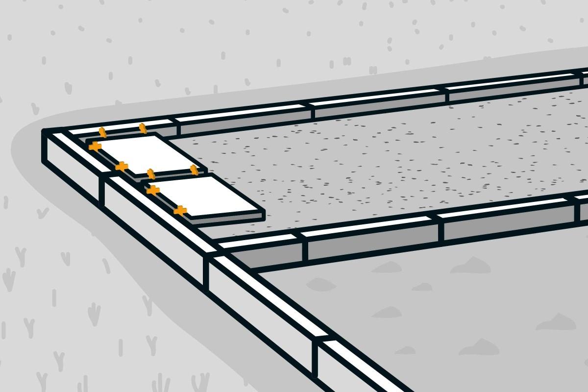 Holz Stein Terrasse bauen   HORNBACH