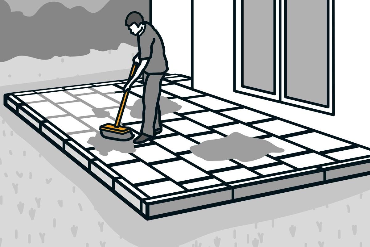 Terrassenplatten verlegen   HORNBACH