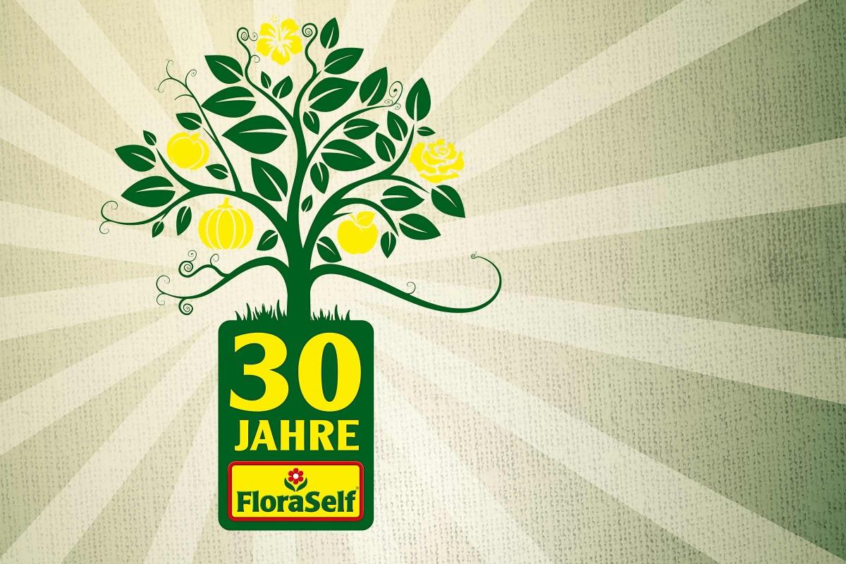 30 jahre floraself