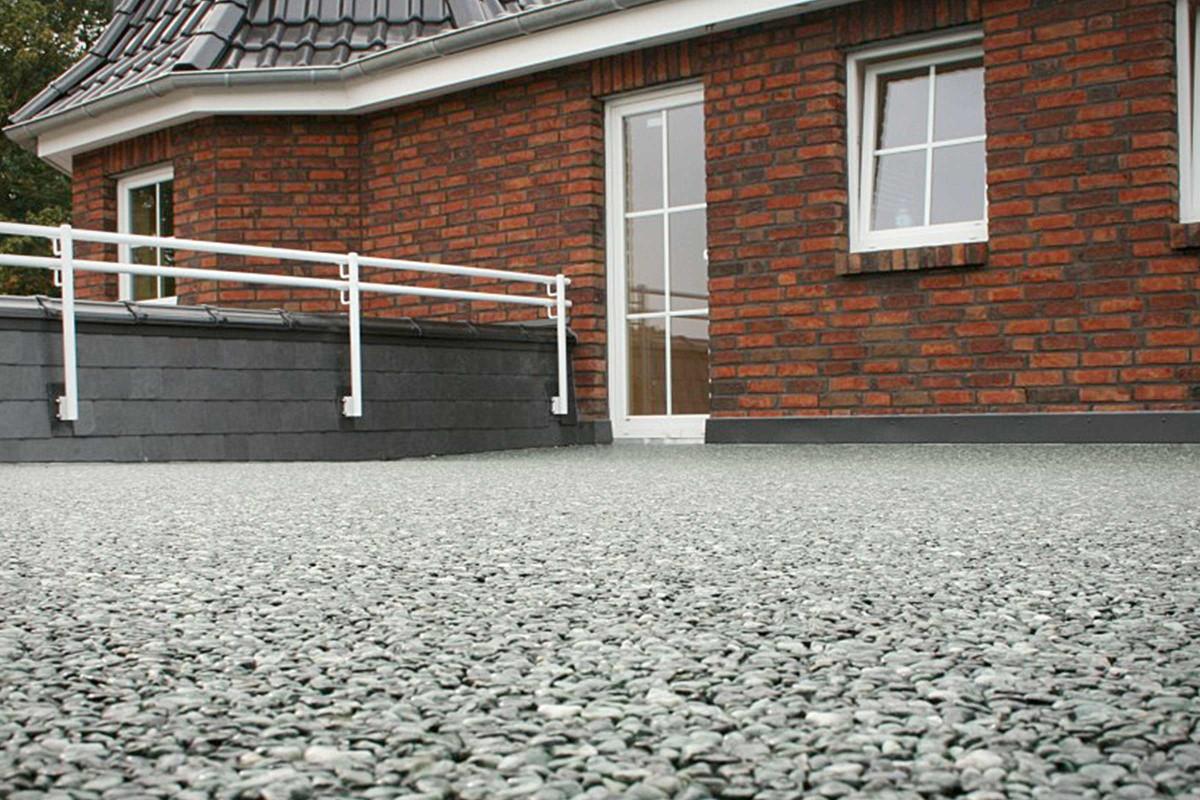 Steinteppich aussen