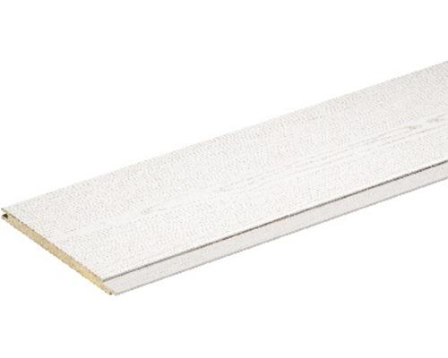 Dekorpaneel Esche Weiß 8x150x2600 mm