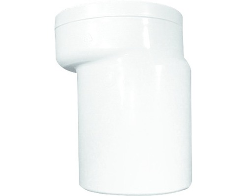 WC-Anschlußstutzen HL 110 mm weiß