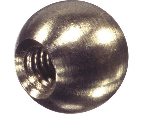 Kugelmutter M4 Messing, 4 Stück
