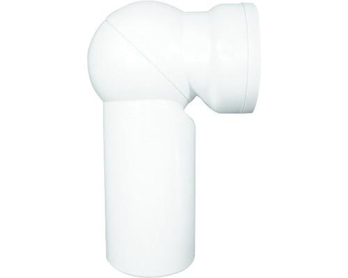 WC Anschlußbogen HL 210 90 ° weiß