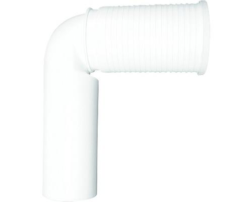 WC-Anschlußbogen HL 90 ° weiß