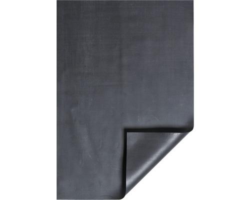 Teichfolie Heissner synthetischer Kautschuk 1,0 mm stark 9,0 m breit schwarz (Meterware)