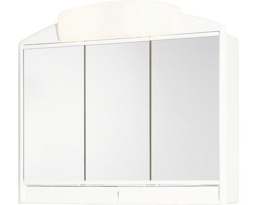 Spiegelschrank Jokey Rano 59x51x16 cm 3-türig weiß