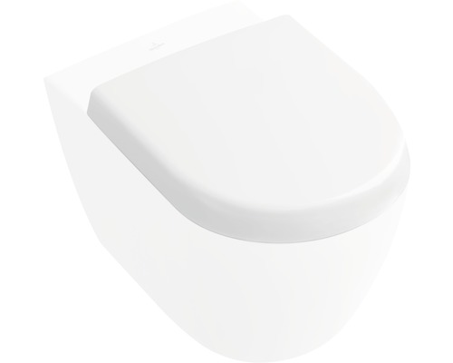 WC-Sitz Villeroy & Boch Subway 2.0 Compact weiß mit Absenkautomatik