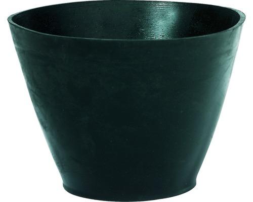 Gipsbecher konische Form schwarz