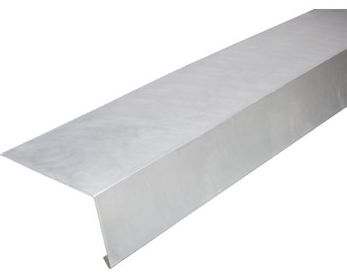 PRECIT Aluminium Rinneneinhang 100° ohne Wasserfalz 1000 x 145 x 90 mm