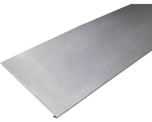 PRECIT Aluminium Traufstreifen ohne Wasserfalz 1000 x 23 mm