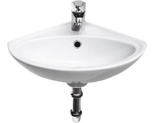 Eckhandwaschbecken Cersanit Sigma 36x36 cm weiß