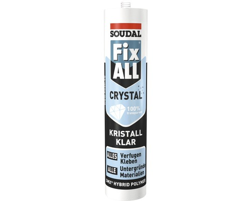 Fix All Montagekleber Crystal 300 gr