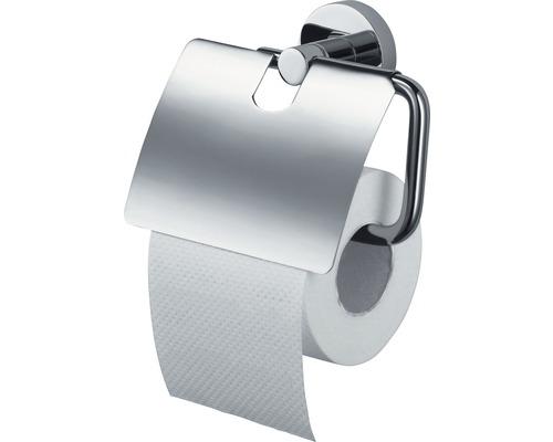 Toilettenpapierhalter Haceka Kosmos chrom mit Deckel