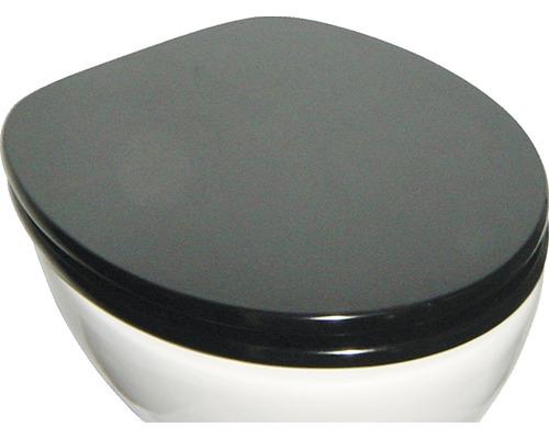 WC-Sitz ADOB Modern Shape Schwarz