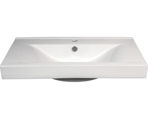 Aufsatzwaschbecken Sanotechnik 80x48x17 cm weiß