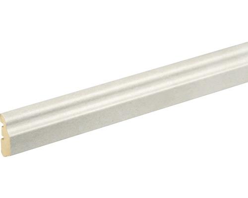 Deckenabschlußleiste Beton hell 14x36x2400 mm