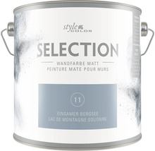 Wandfarbe StyleColor SELECTION Einsamer Bergsee 2,5 l