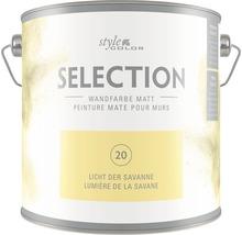 Wandfarbe StyleColor SELECTION Licht der Savanne 2,5 l