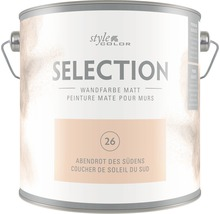 Wandfarbe StyleColor SELECTION Abendrot des Südens 2,5 l