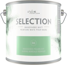 Wandfarbe StyleColor SELECTION Magisches Polarlicht 2,5 l