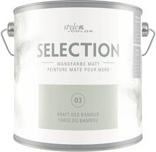 Wandfarbe StyleColor SELECTION Kraft des Bambus 2,5 l