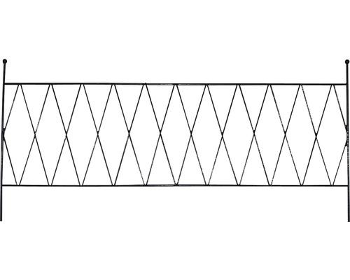 Balkonspalier Cara 80 schwarz