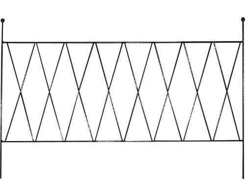 Balkonspalier Cara 60 schwarz
