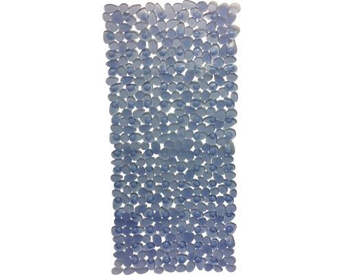 Wanneneinlage Spirella Riverstone Clear Blue 75x36 cm