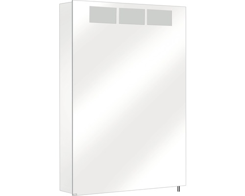 Spiegelschrank Keuco Royal T1 50,5x70x14,3 cm Anschlag links 1-türig aluminium