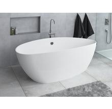 Freistehende Badewanne Ria 1570x700 mm links