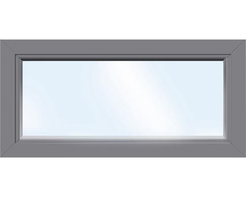 Kunststofffenster Festelement ARON Basic weiß/anthrazit 1150x850 mm