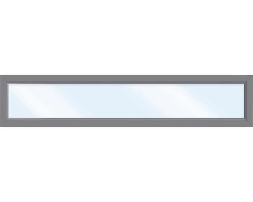Kunststofffenster Festelement ARON Basic weiß/anthrazit 1650x1000 mm
