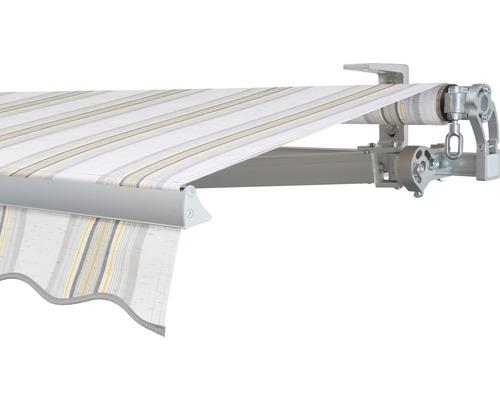 Gelenkarmmarkise 350x200 cm Soluna Concept ohne Motor Dessin 6287