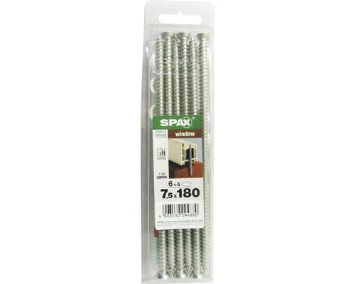 Spax Rahmenanker (Fenster- und Türrahmen) Senkkopf T30, 7,5x180 mm, 6 Stück