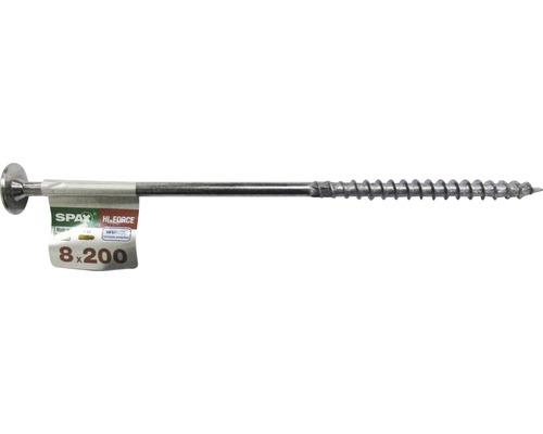 Spax Holzbauschraube Hi.Force, Tellerkopf T 40, Holz-Teilgewinde, 8x200 mm, 1 Stück