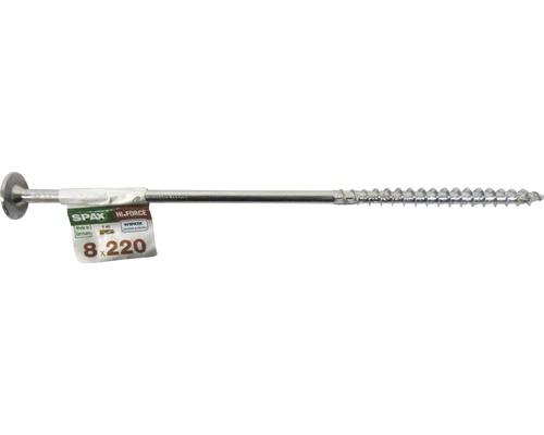 Spax Holzbauschraube Hi.Force, Tellerkopf T 40, Holz-Teilgewinde, 8x220 mm, 1 Stück