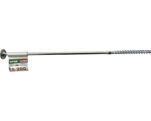 Spax Holzbauschraube Hi.Force, Tellerkopf T 40, Holz-Teilgewinde, 8x280 mm, 1 Stück