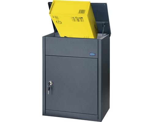 Standpaketbox Rottner Parcel Keeper 500 380x535x250 mm schwarz