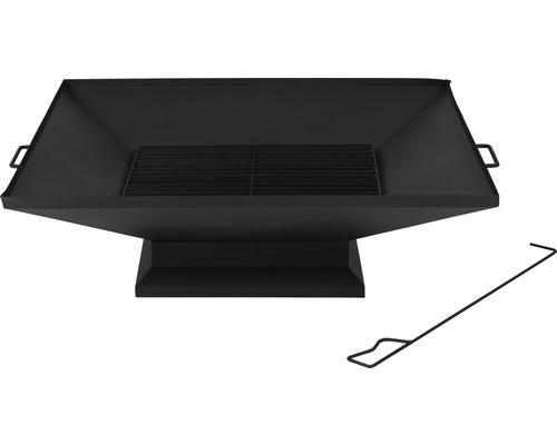 Feuerschale Tepro Penfield Stahl 79,8x91x25,8 schwarz