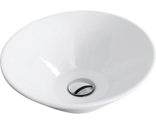 Aufsatzwaschbecken Fackelmann iX! 42x42 cm weiß