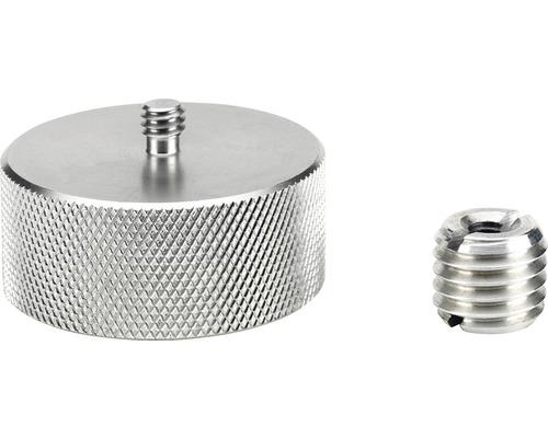 """Gewindeadapter SOLA GA-Set 1/4"""" auf 5/8"""" und 5/8"""" auf 1/4"""" aus Aluminium"""