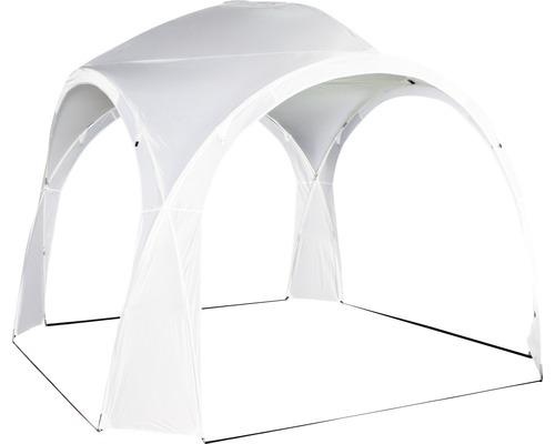 Partyzelt Roma Siena Garden 3,2x3,2x2,60 m Polyester 180 g/m² weiß