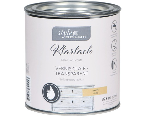 Klarlack für Kreidefarbe StyleColor matt 375 ml
