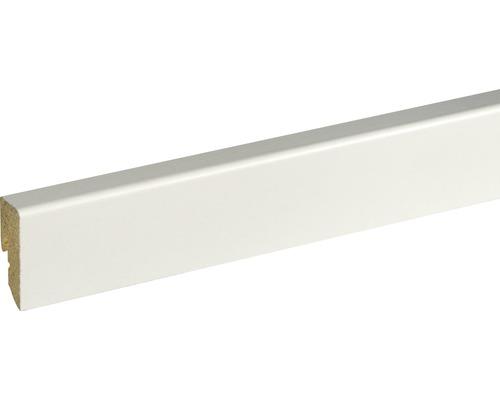 Sockelleiste SU047L weiß foliert 16x40x2500 mm
