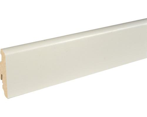 Sockelleiste SU060L weiß foliert 19x58x2500 mm