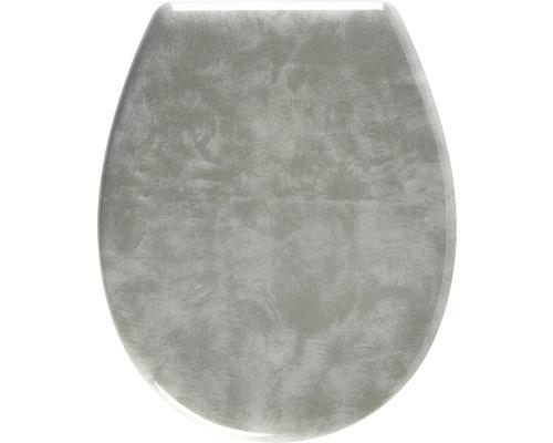 WC-Sitz ADOB Metallic Metall-Manhatten